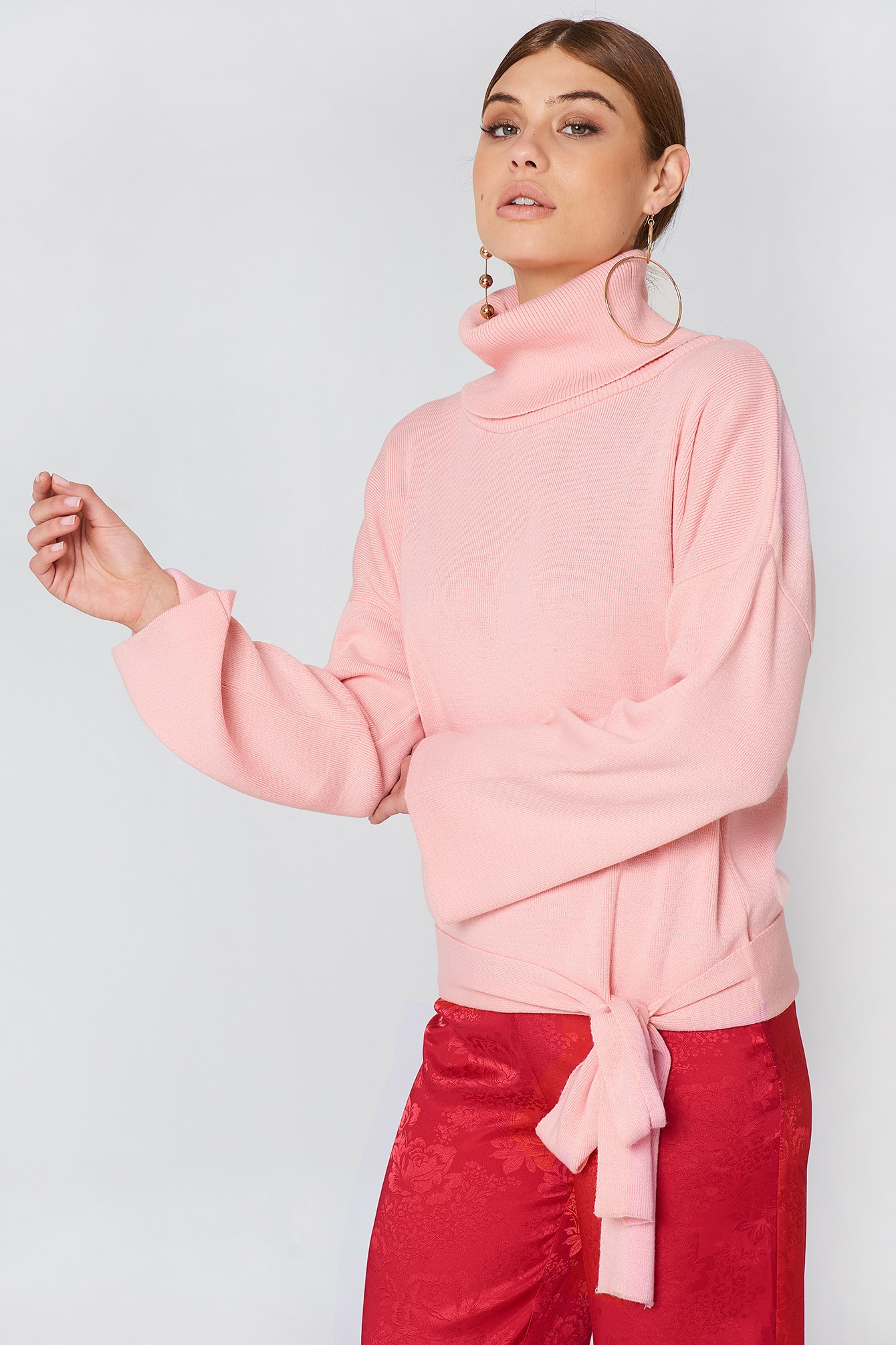 Bottom Tie Sweater NA-KD.COM
