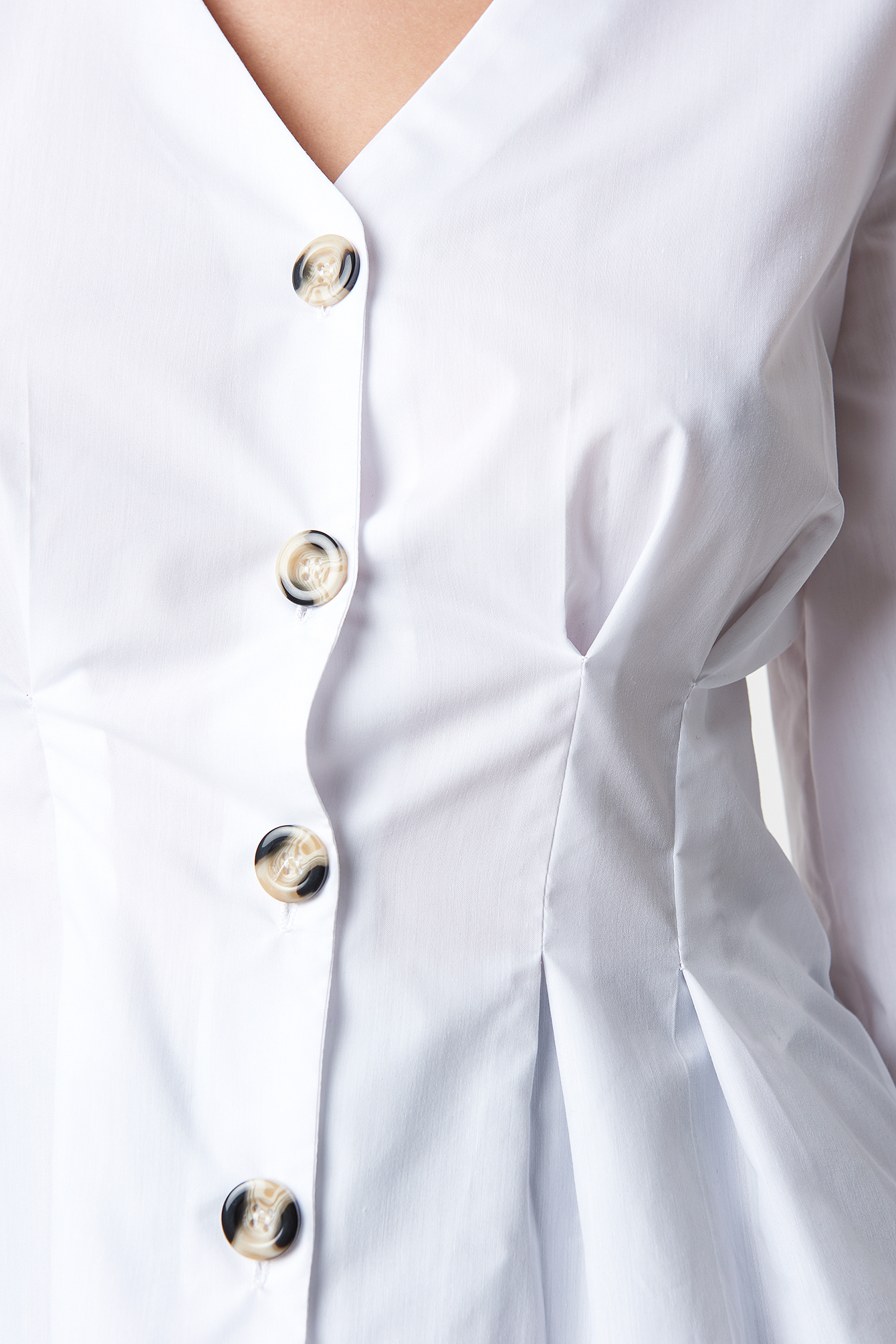 Button Detailed Shirt NA-KD.COM
