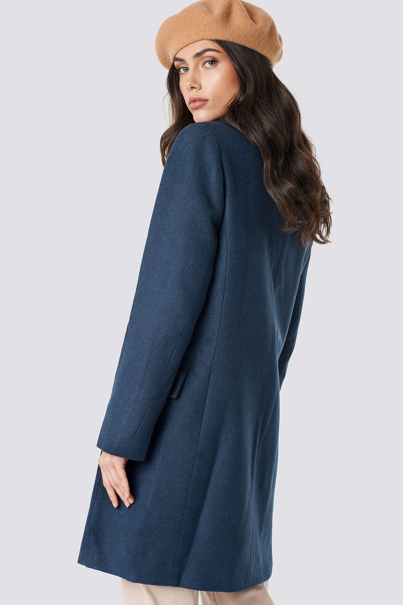 Button Detailed Kaban Coat NA-KD.COM