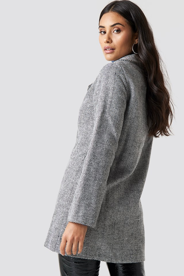 Button Detailed Coat NA-KD.COM
