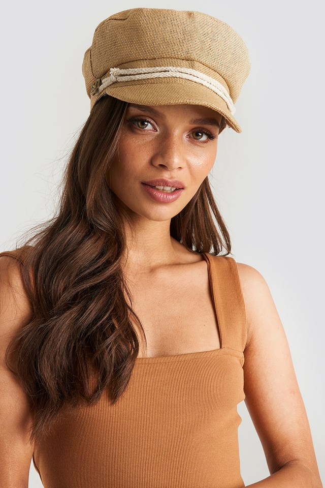 Camel Cap Hat NA-KD.COM