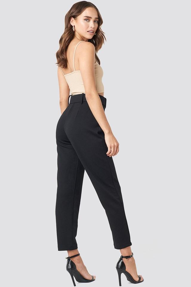 Carmen Cropped Pants Black