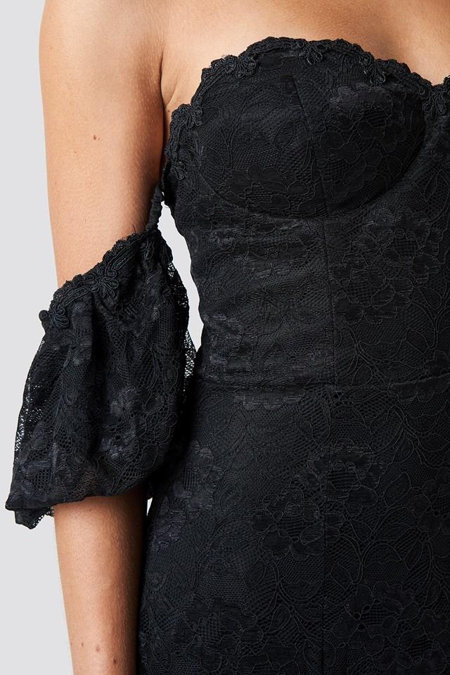 Carmen Lace Maxi Dress NA-KD.COM