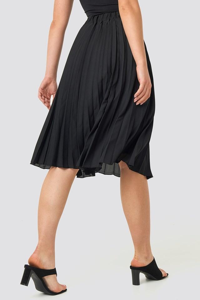 Carmen Pleated Skirt Black