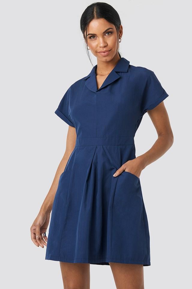 Carmen Pocket Detailed Dress NA-KD.COM