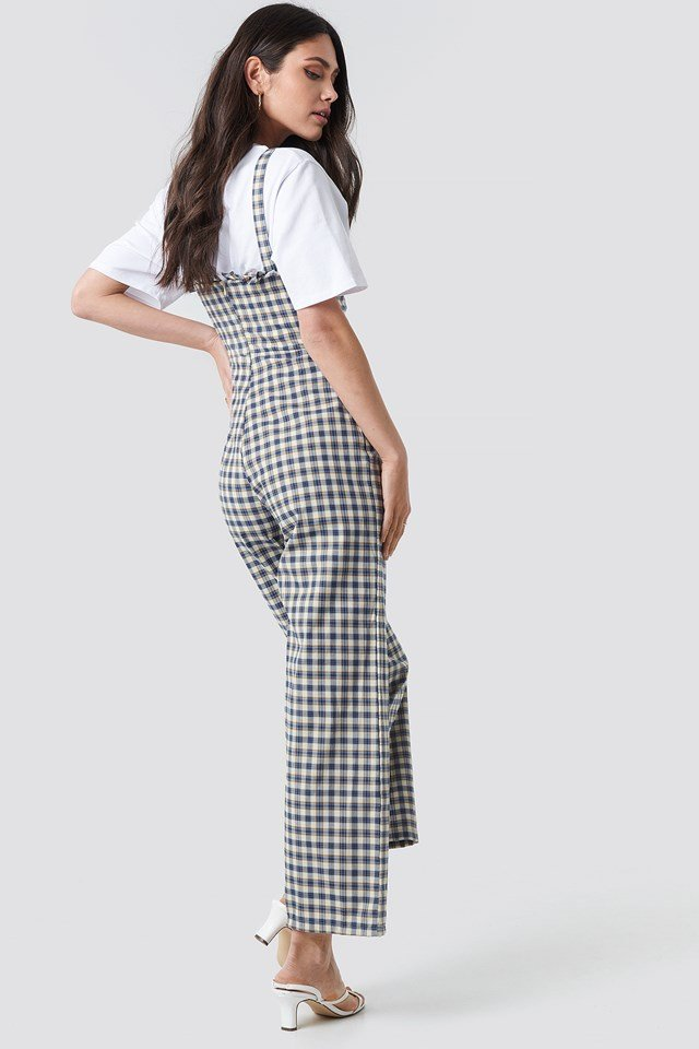 Checkered Jumpsuit NA-KD.COM