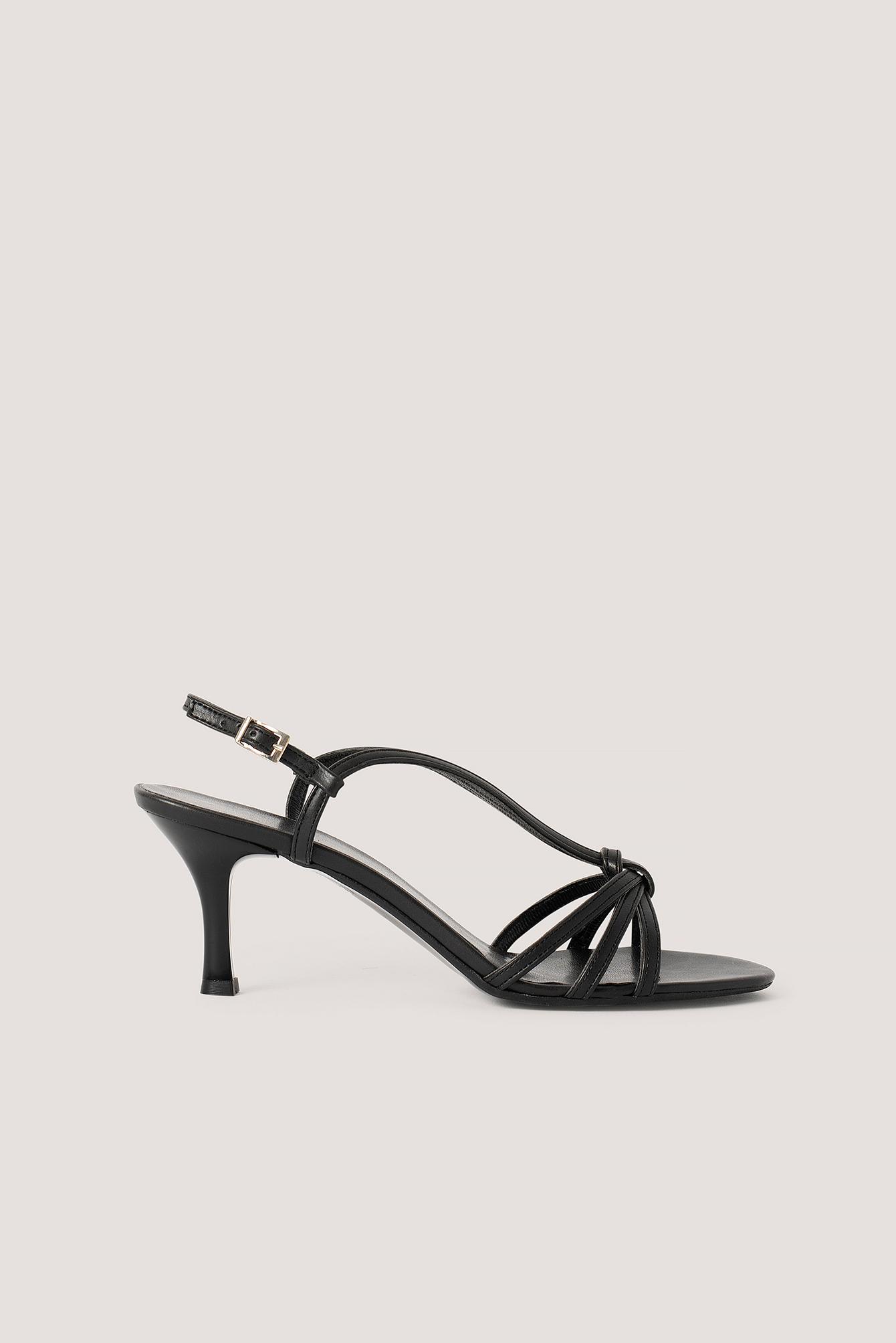 trendyol -  Classic Heel Sandals - Black