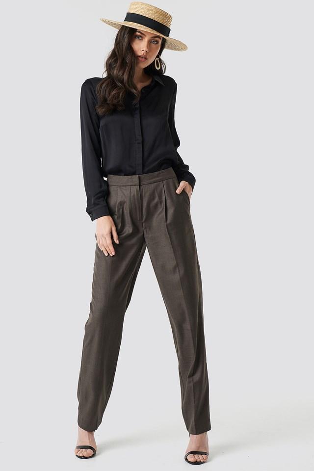 Classic Milla Shirt Black