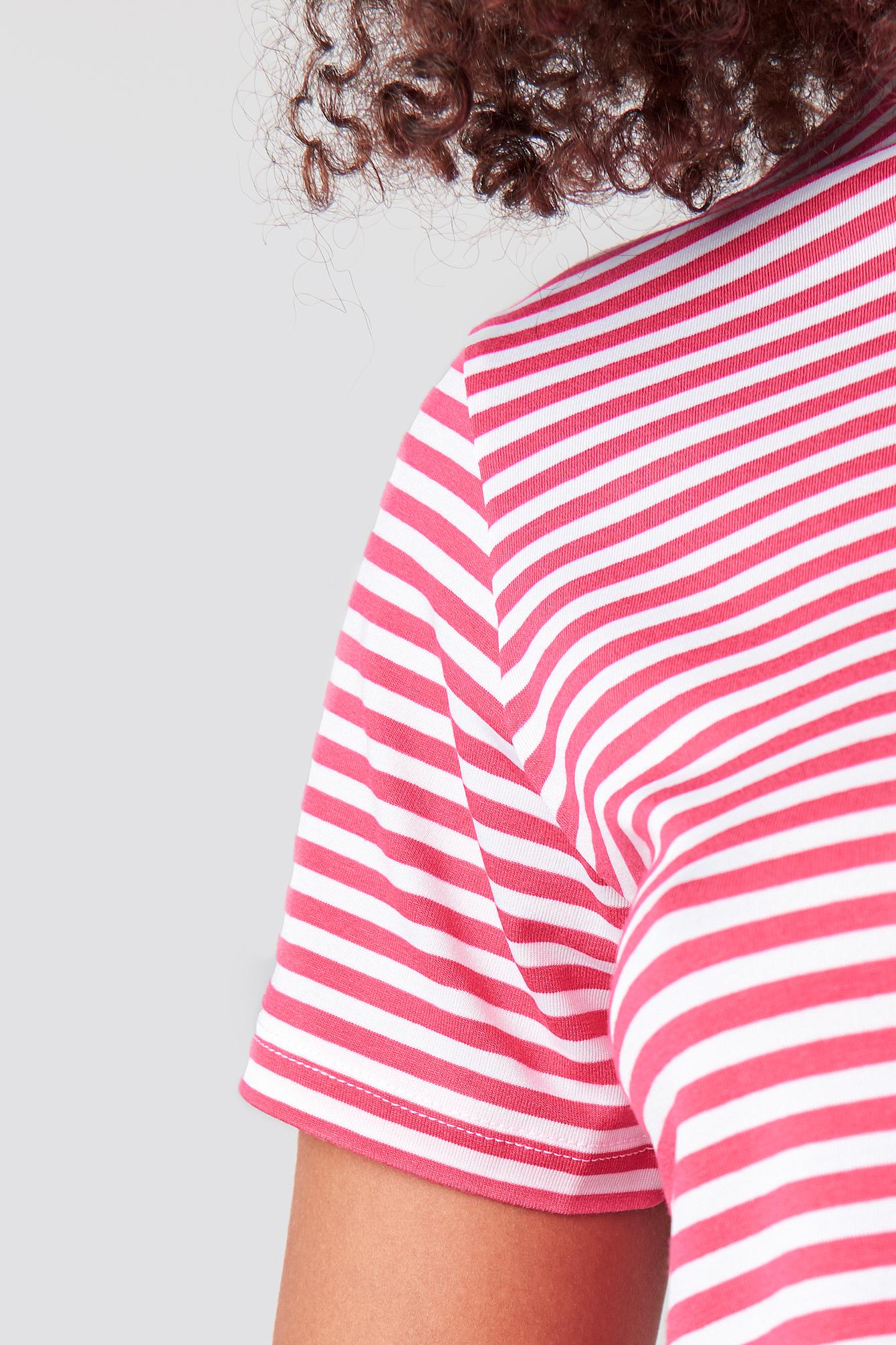 Classic Striped Basic Tee NA-KD.COM