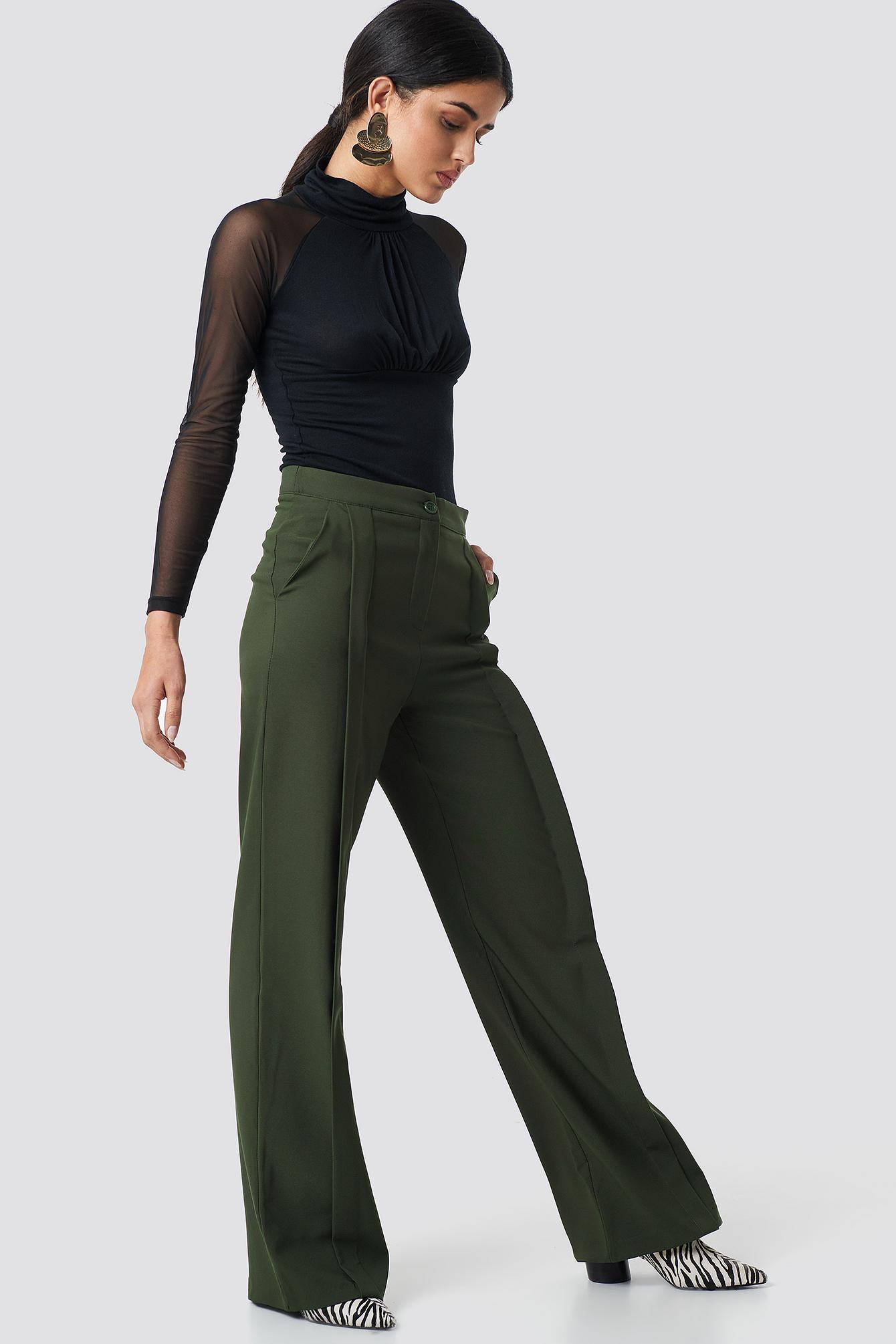 Classic Wide Pants NA-KD.COM