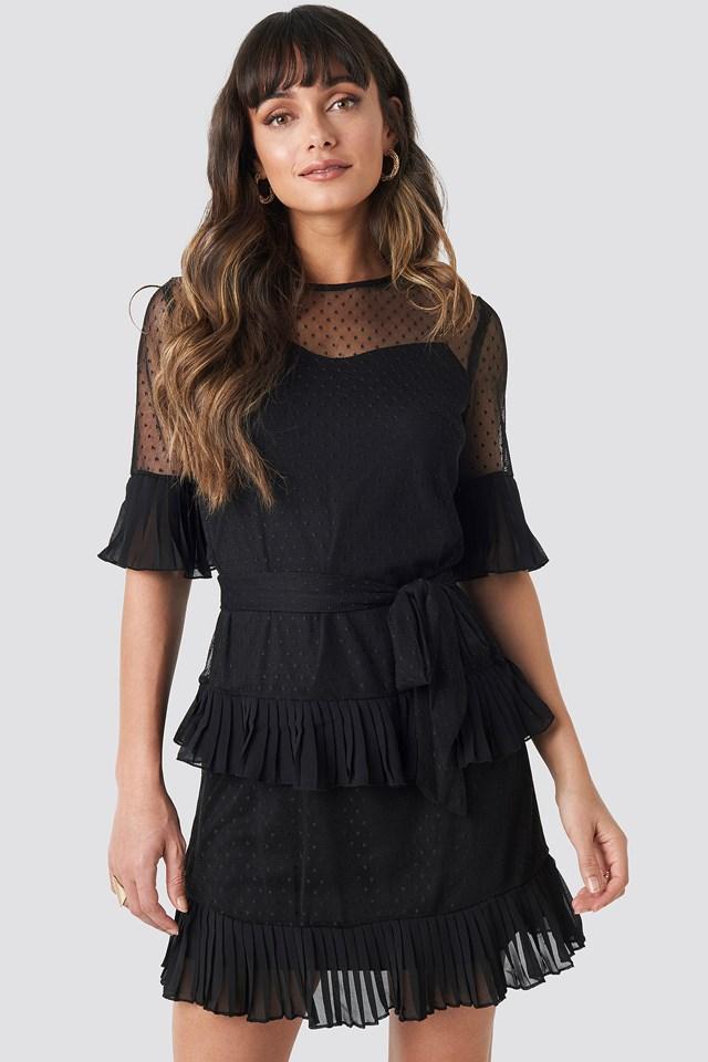 Cleo Mini Dress Black