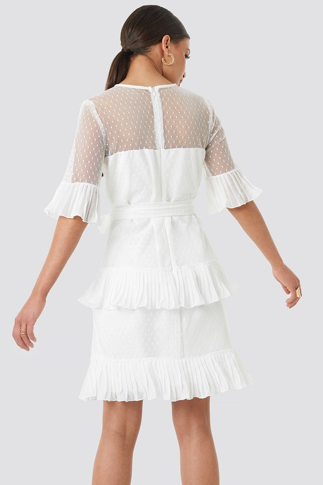 Cleo Mini Dress White