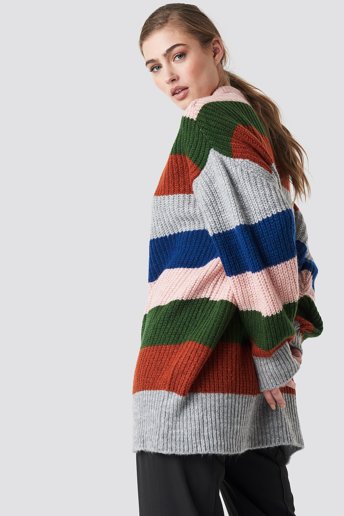 Color Blocked Knitted Jumper NA-KD.COM