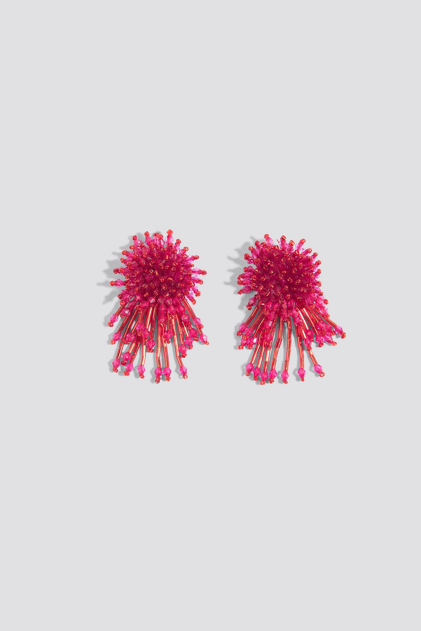 Zdobione kolczyki Coral NA-KD.COM