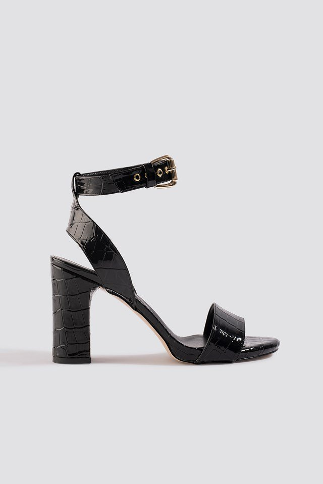 Croco High Heels Trendyol