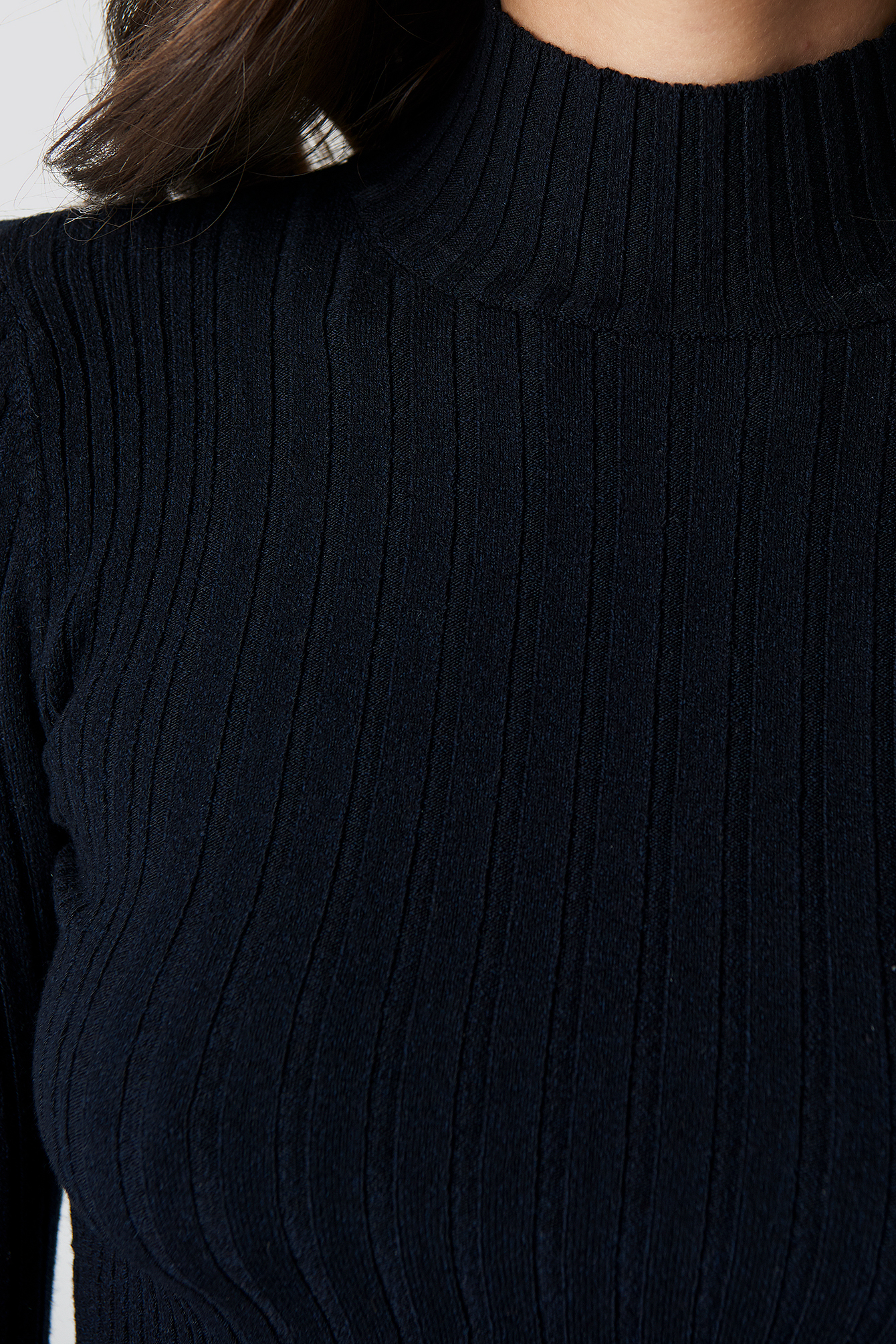 Crop Half Fishing Sweater NA-KD.COM