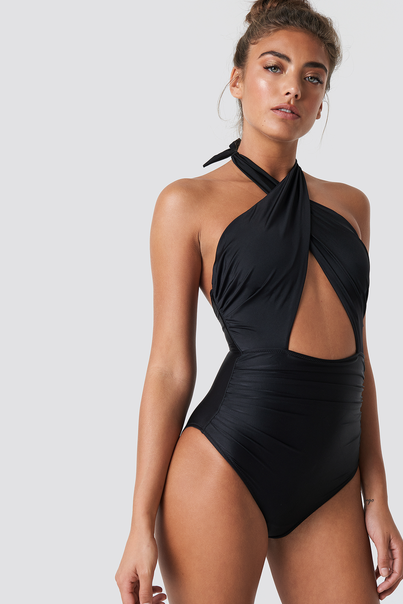 Cross Linked Swimsuit NA-KD.COM