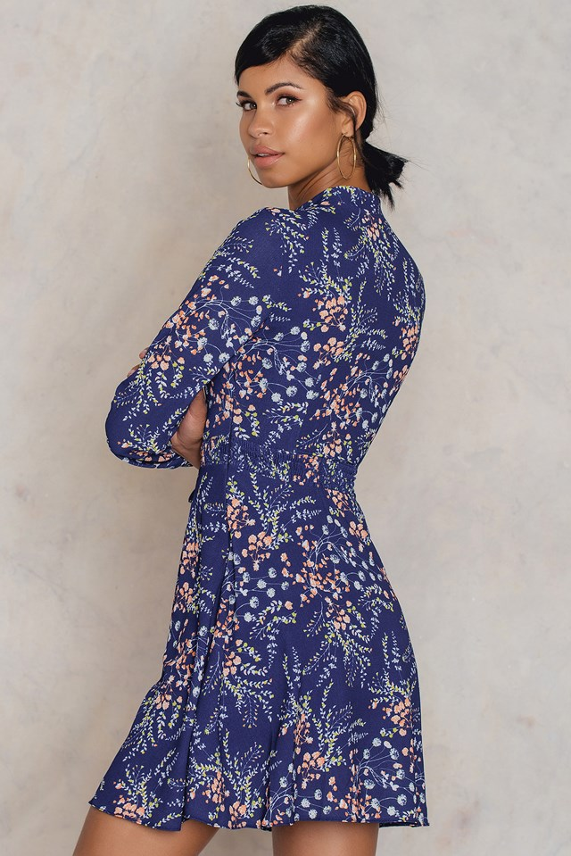 Desenli Dress Patterned