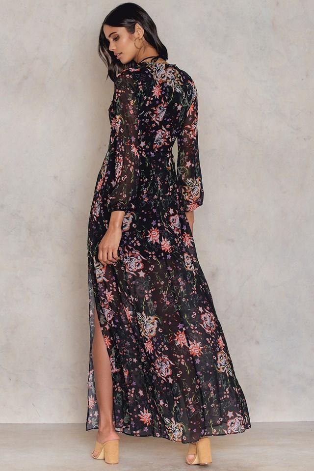 Desenli Maxi Dress NA-KD.COM