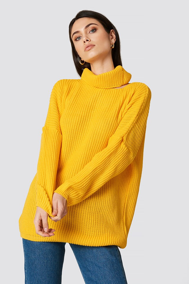 Detailed Collar Sweater NA-KD.COM