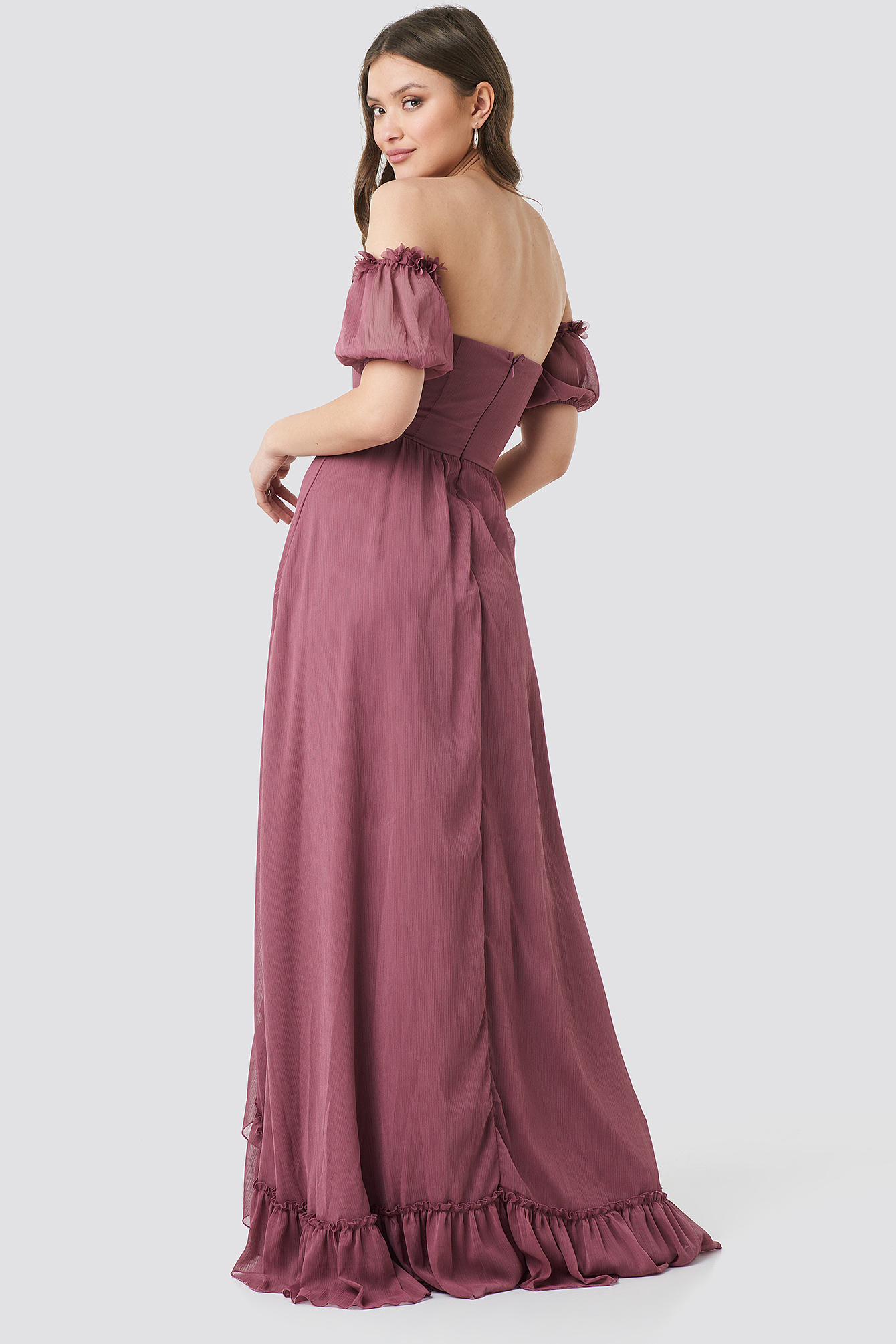 Detailed Evening Dress NA-KD.COM