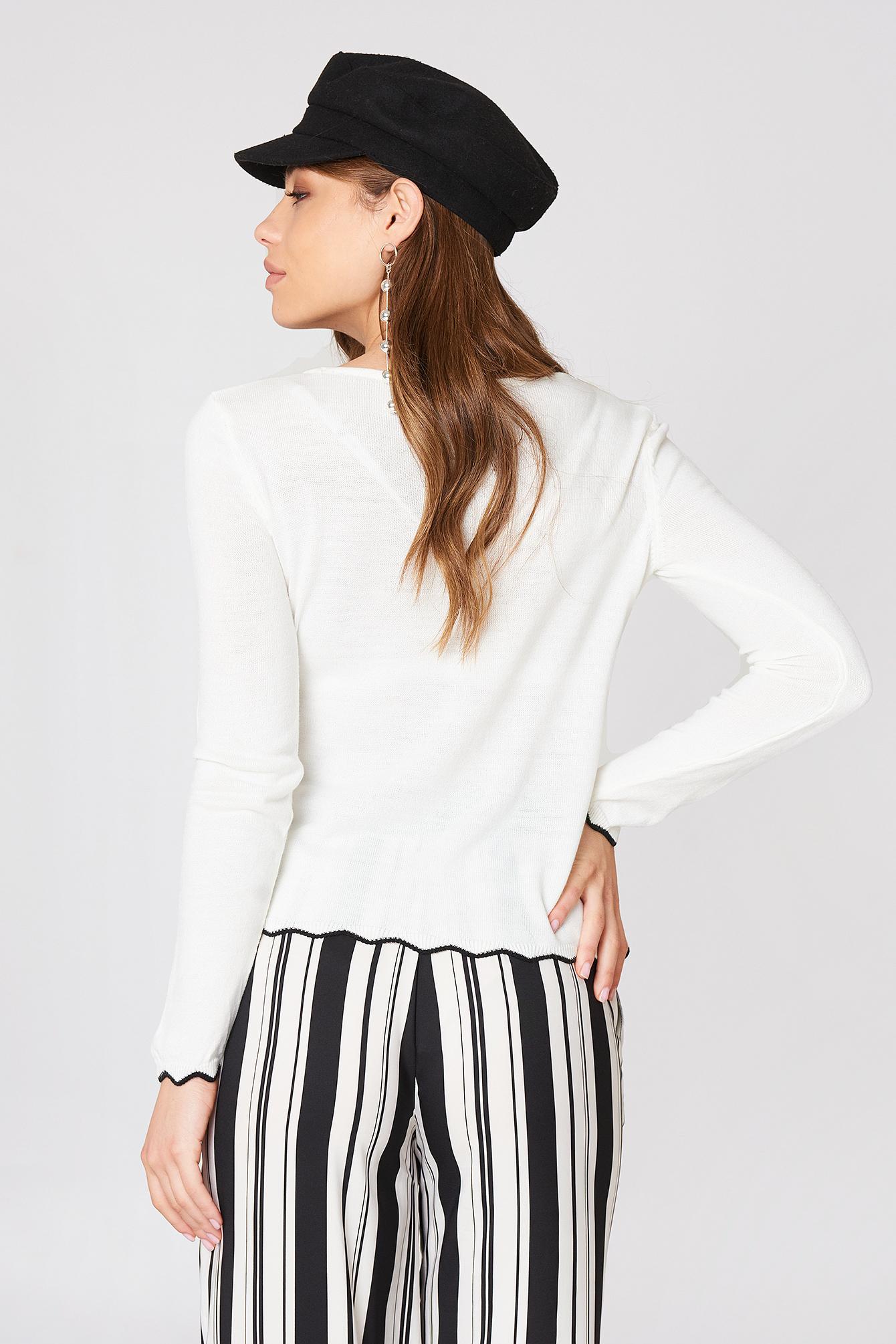 Detailed Hem Sweater NA-KD.COM