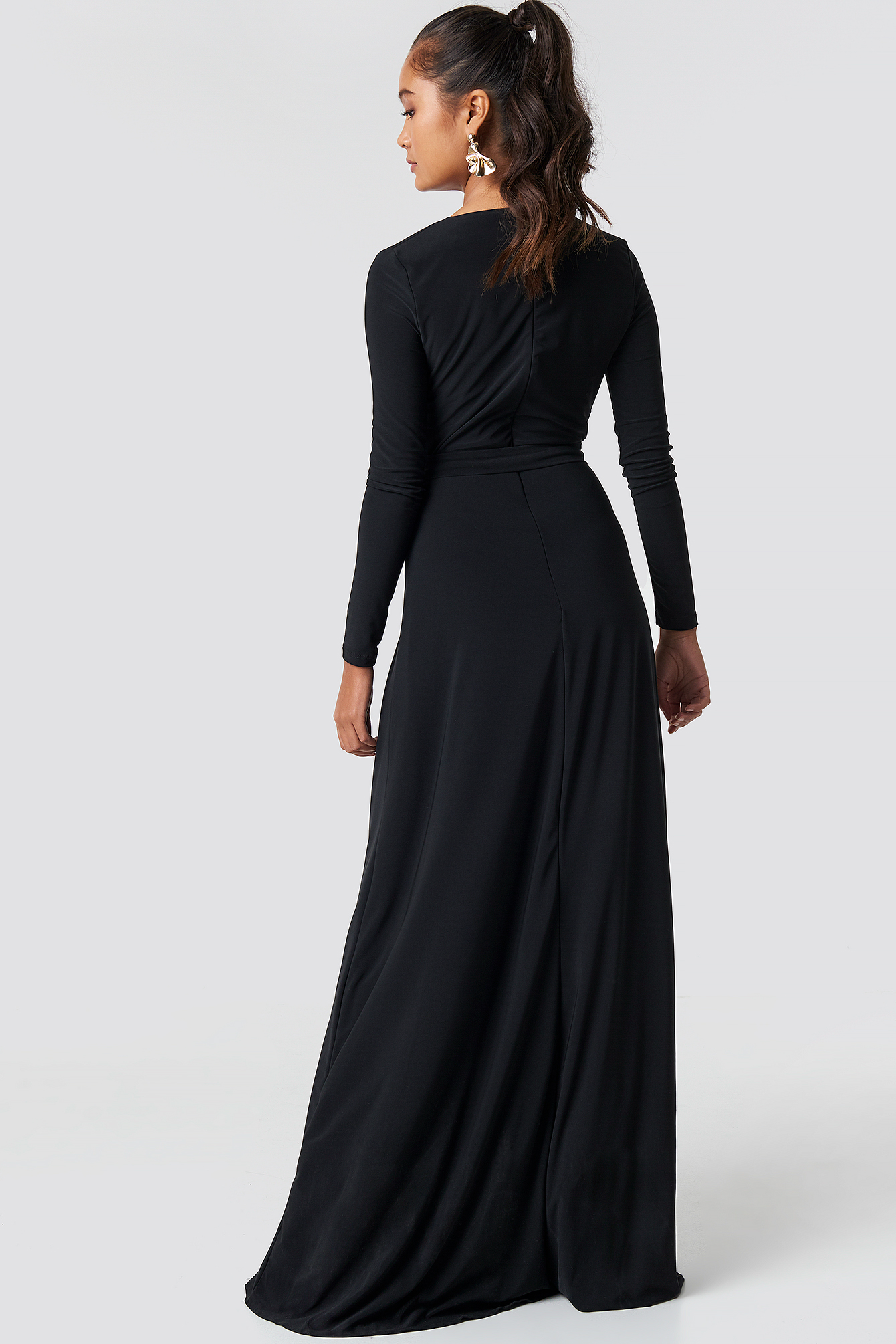 Double Breasted Maxi Dress NA-KD.COM