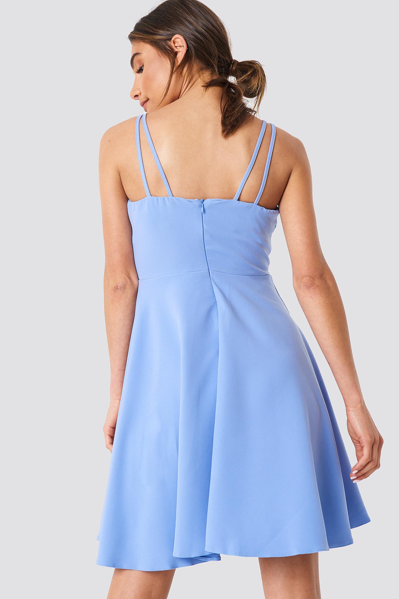 Double Stripe Detail Dress NA-KD.COM