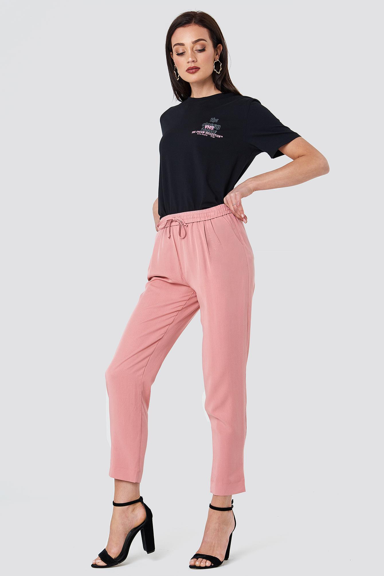 Drawstring Relaxed Pants NA-KD.COM