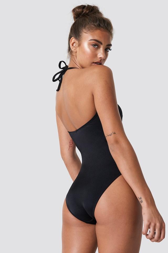 Dubble Knot Swimsuit Black