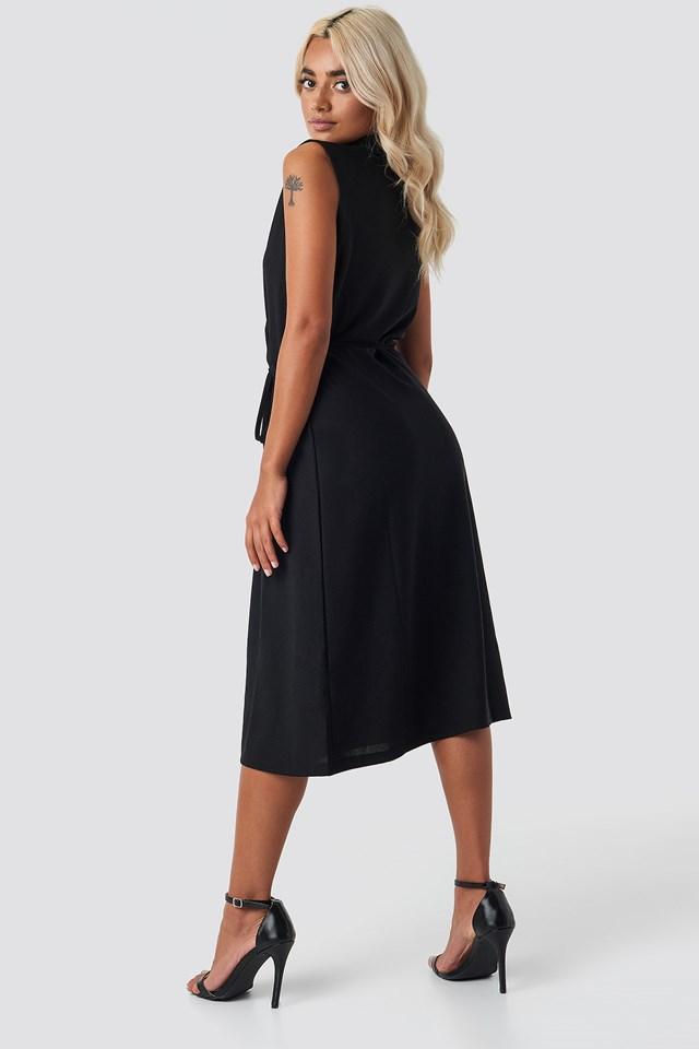 End Midi Dress Black