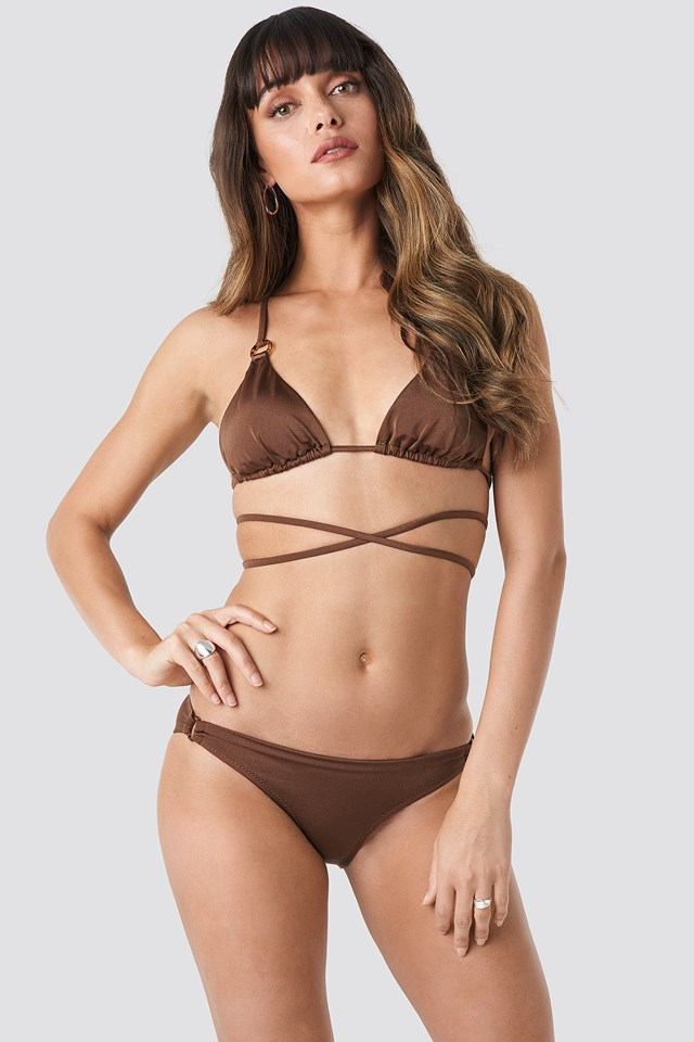 Ess Bikini Bottom Brown