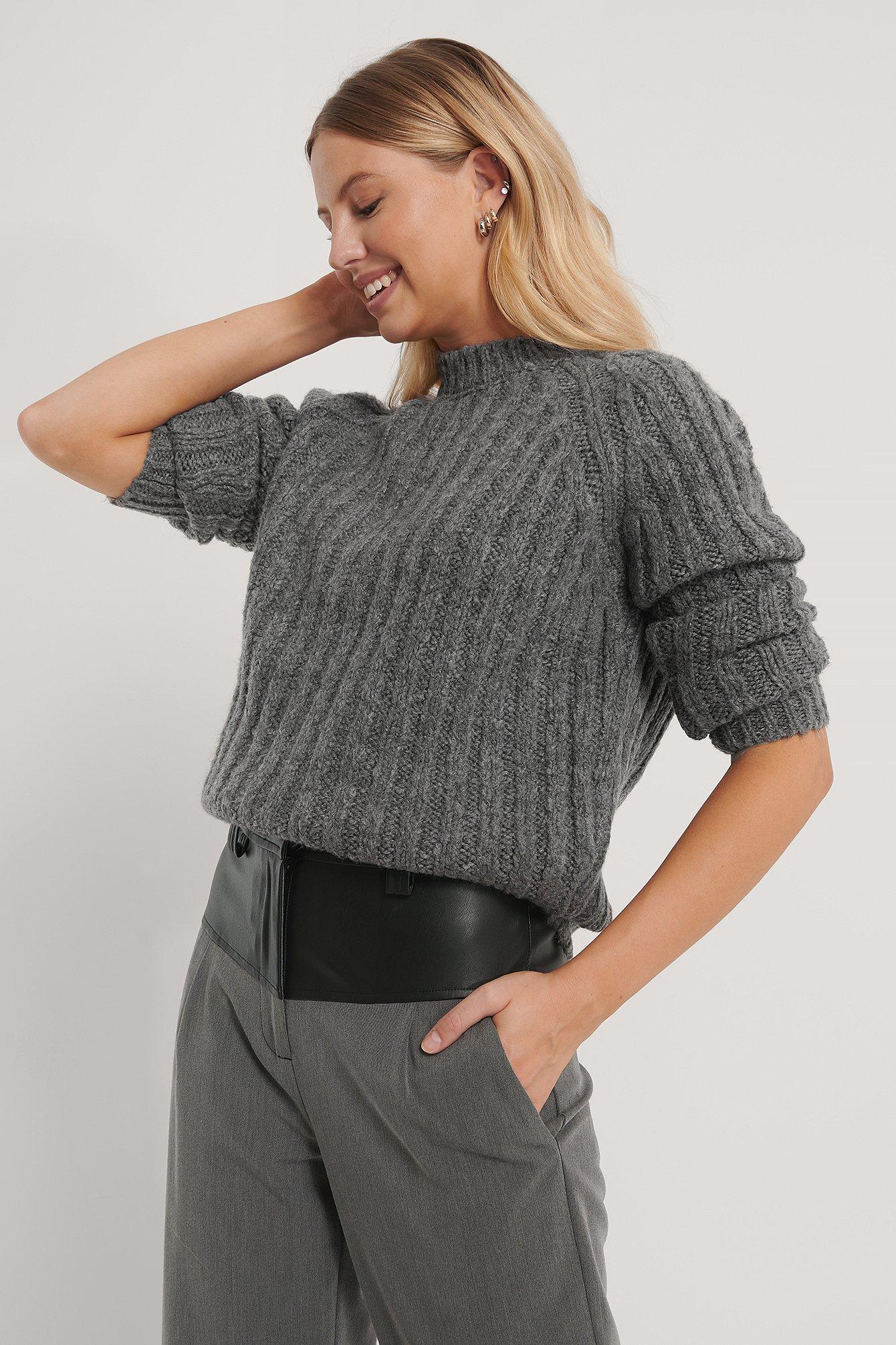 Trendyol Tröja - Grey