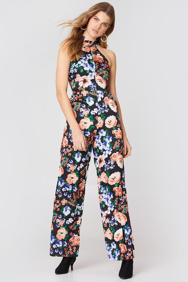 Floral Jumpsuit Multicolor