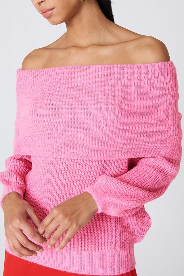 Folded Knit Sweater NA-KD.COM