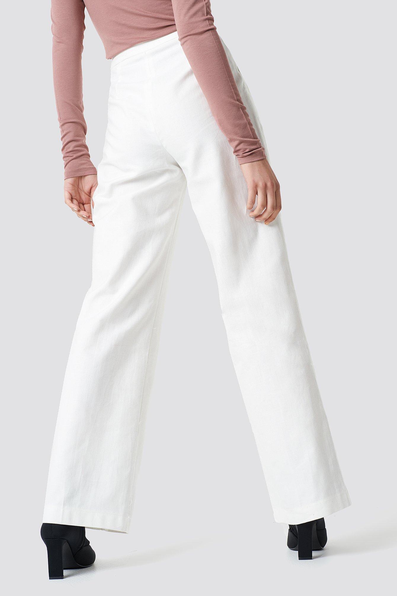 Spodnie z guzikami NA-KD.COM