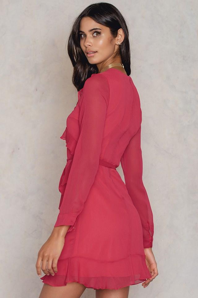 Przezroczysta sukienka Fusya Fuchsia