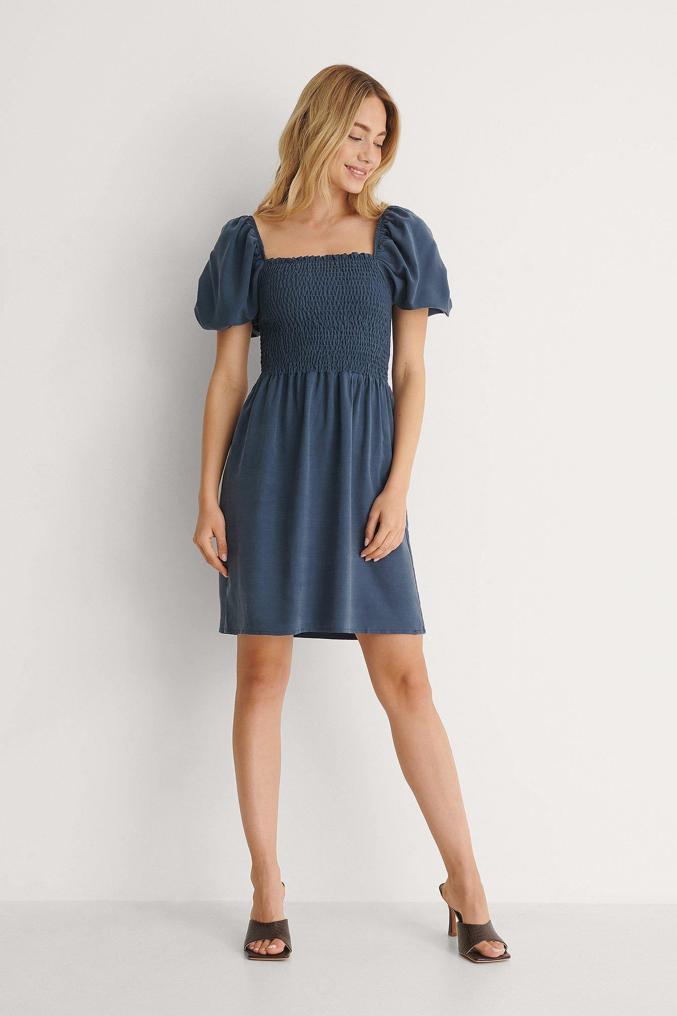Trendyol Miniklänning - Blue