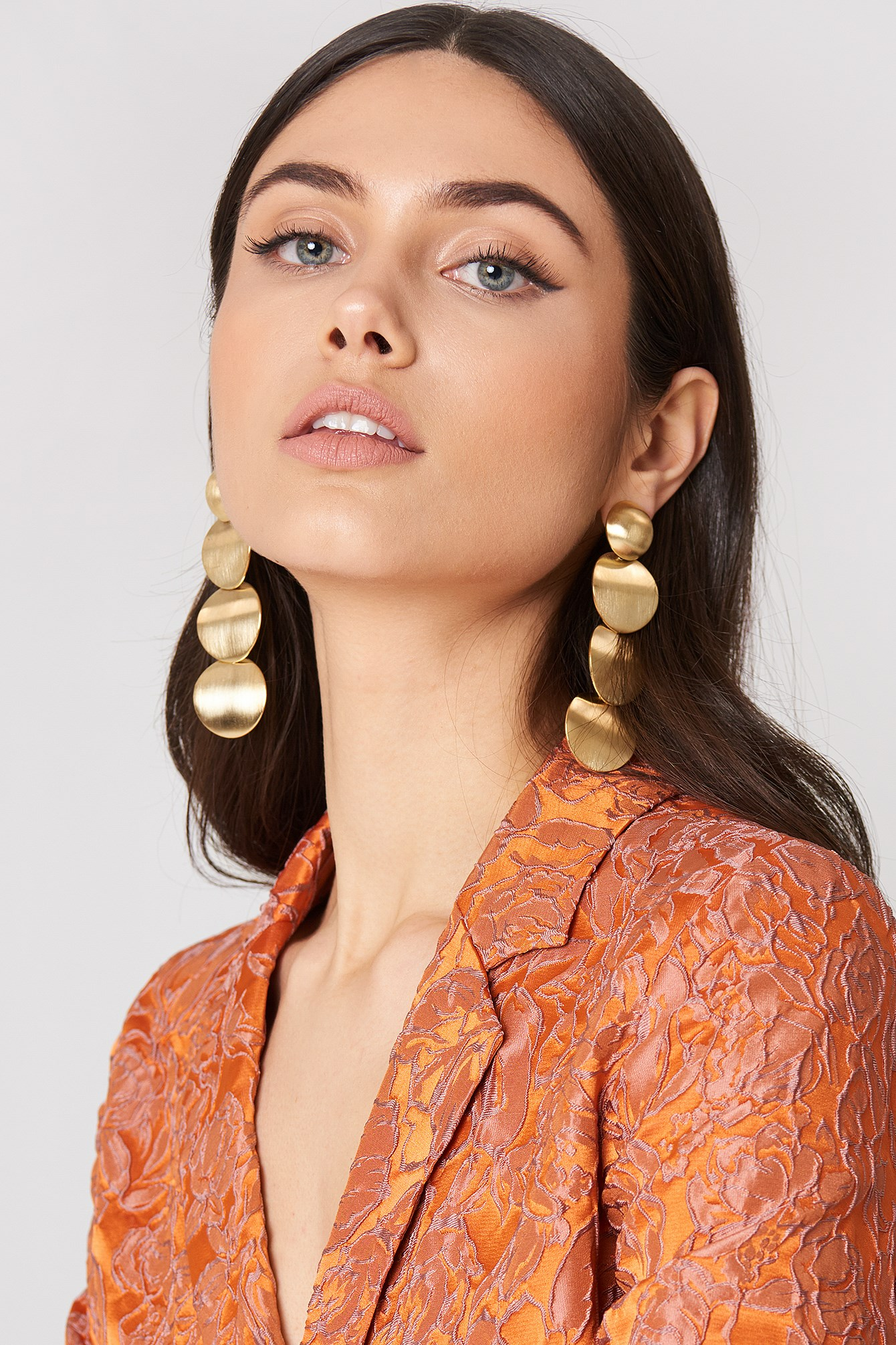 Gold Metal Earring NA-KD.COM