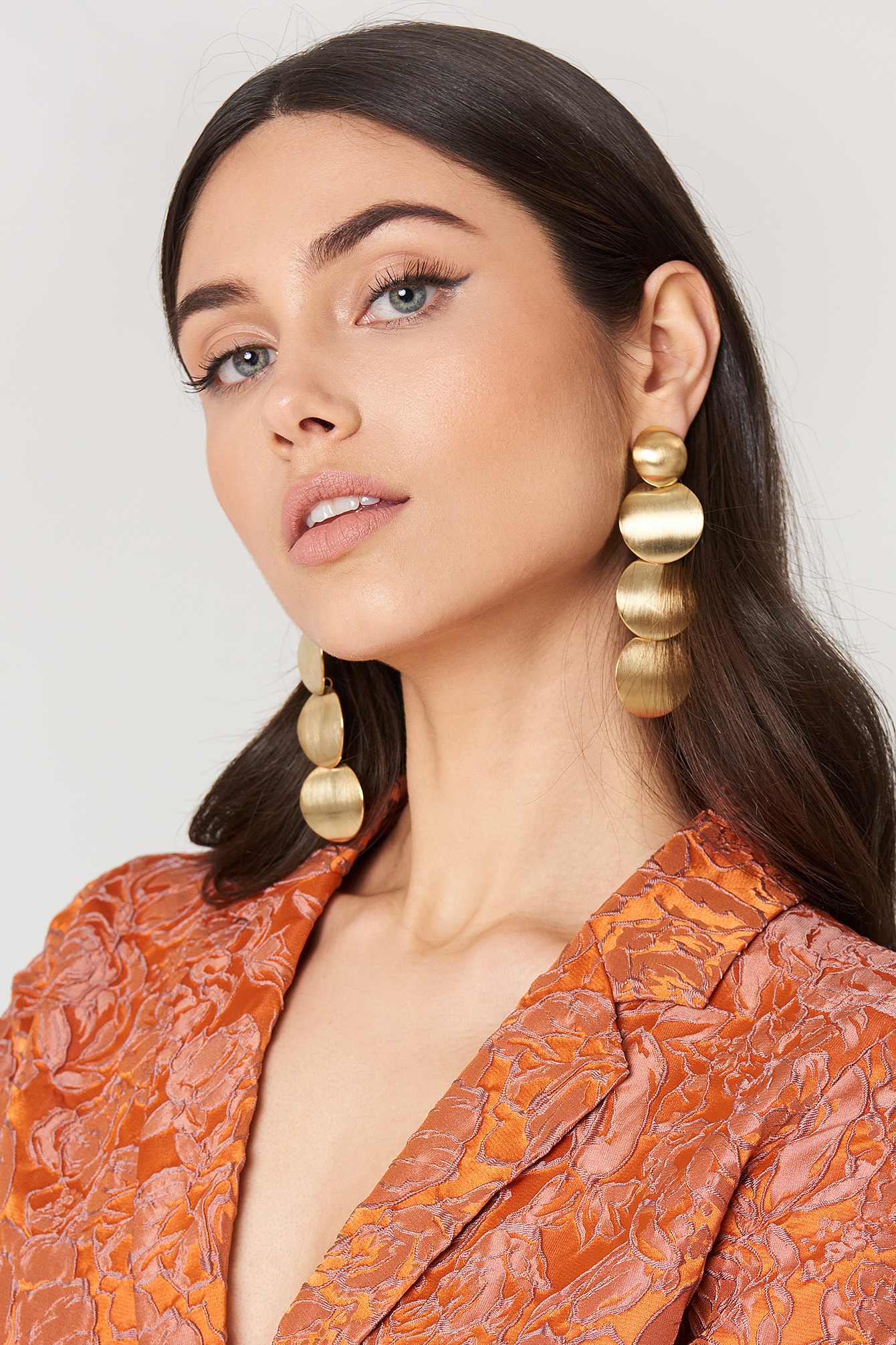 Gold Metal Earring NA-KD.COM