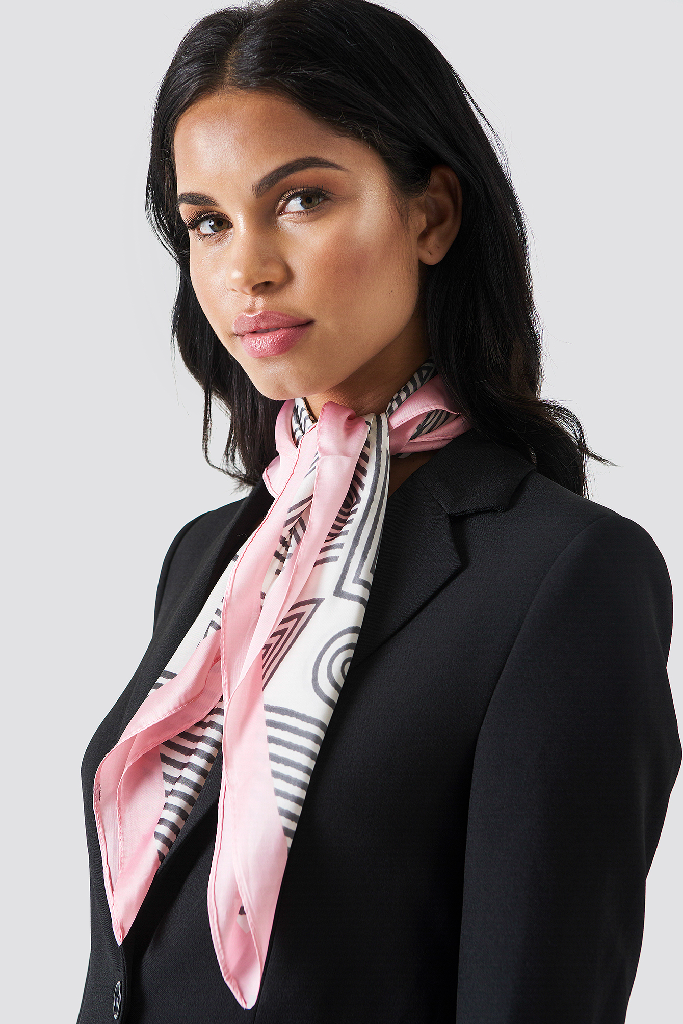 Graphic Pattern Scarf NA-KD.COM