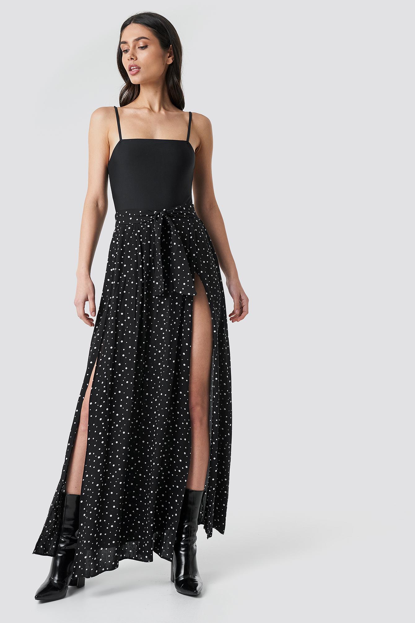 Guipure Viscose Skirt NA-KD.COM