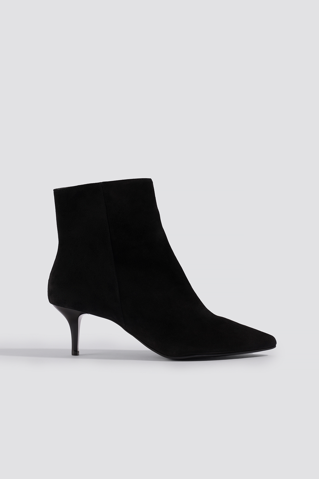 TRENDYOL Hakaki Leather Boots - Black