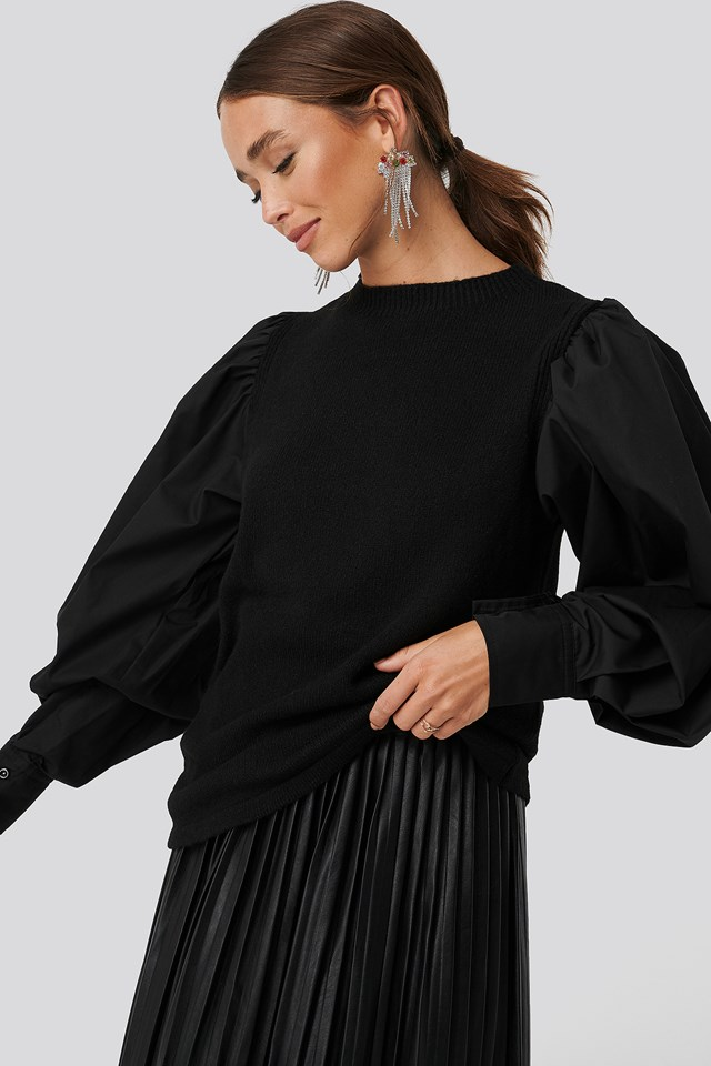 Handle Woven Sweater Pullover Trendyol