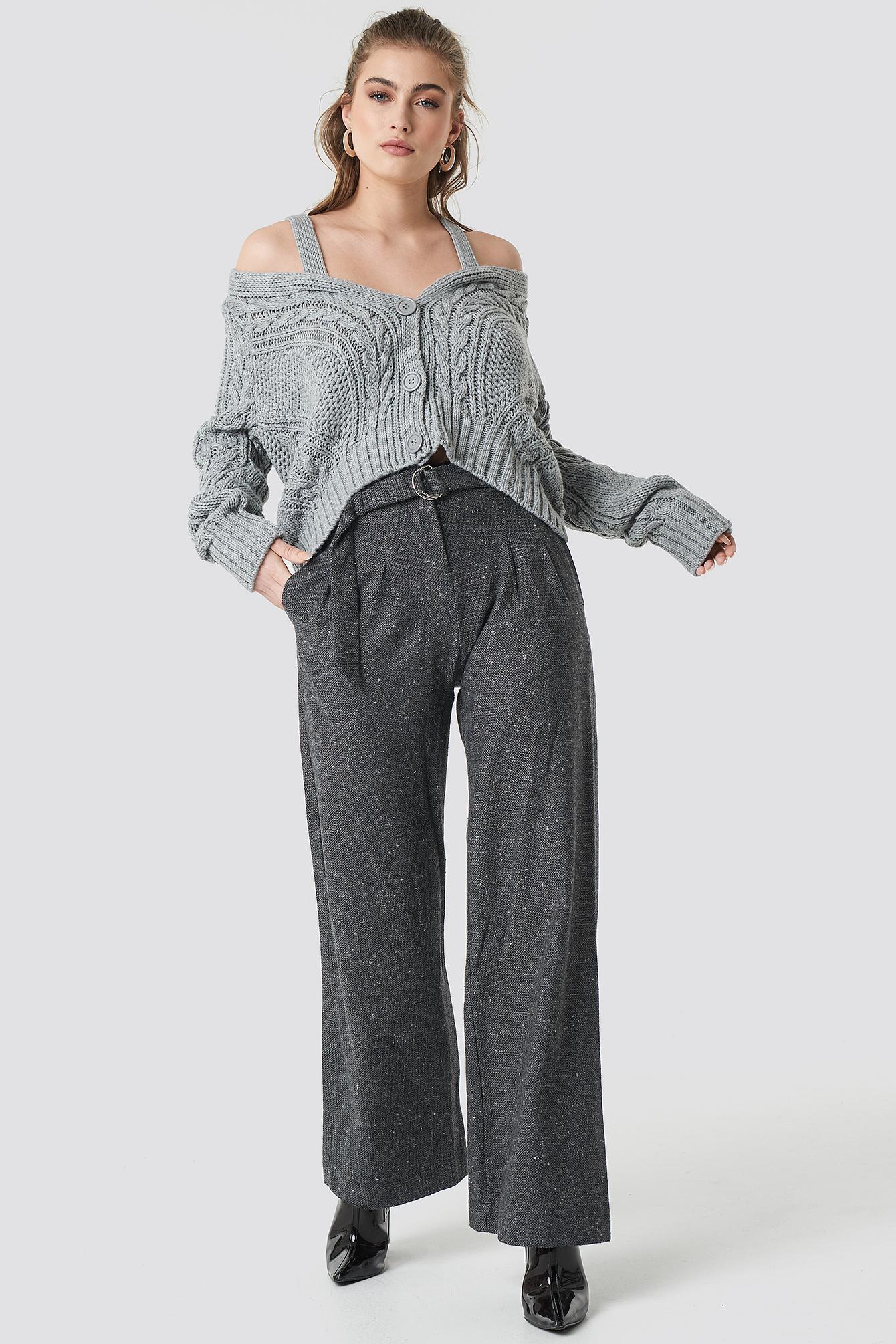 Hanger Sweater Cardigan NA-KD.COM