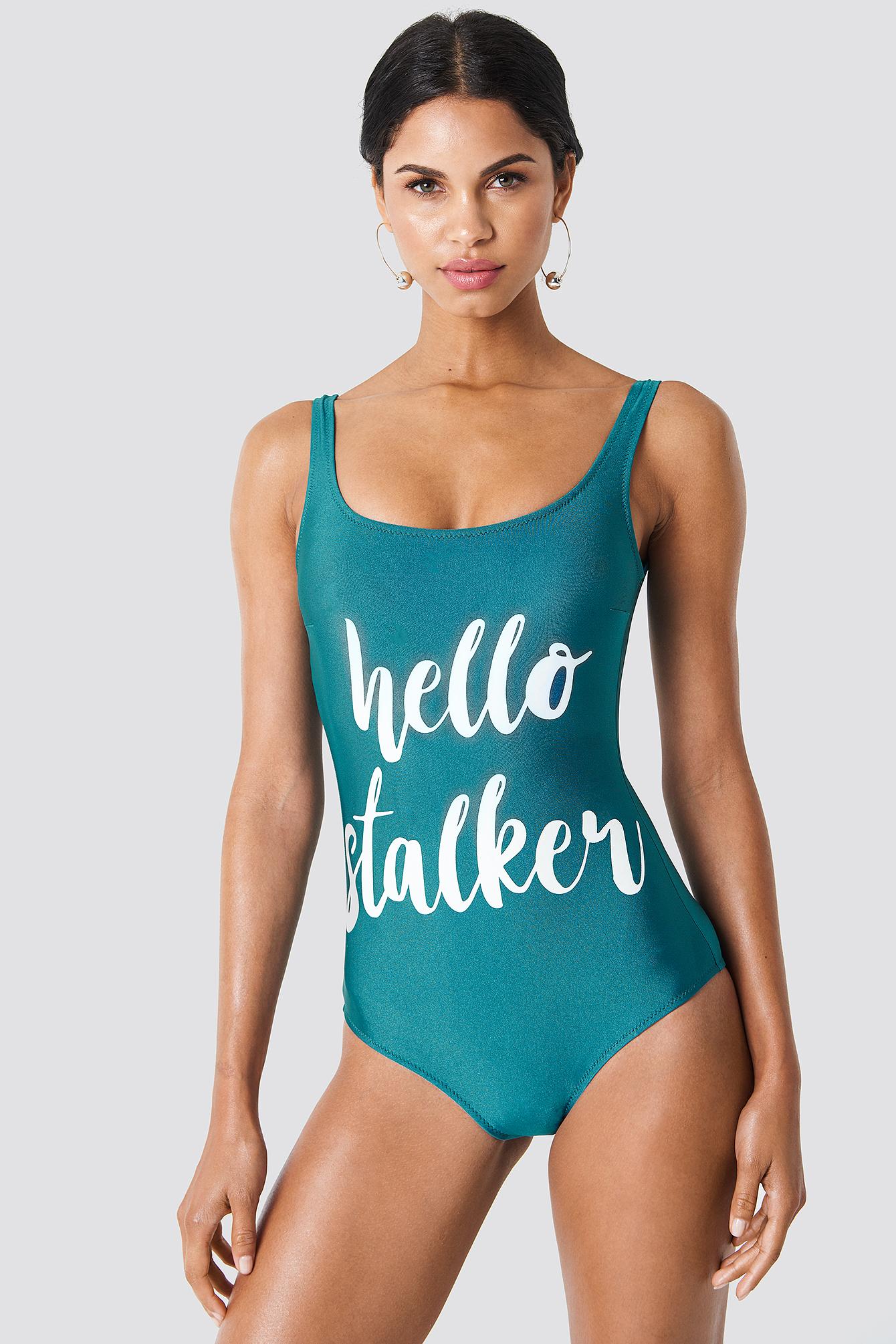 Hello Stalker Swimsuit NA-KD.COM