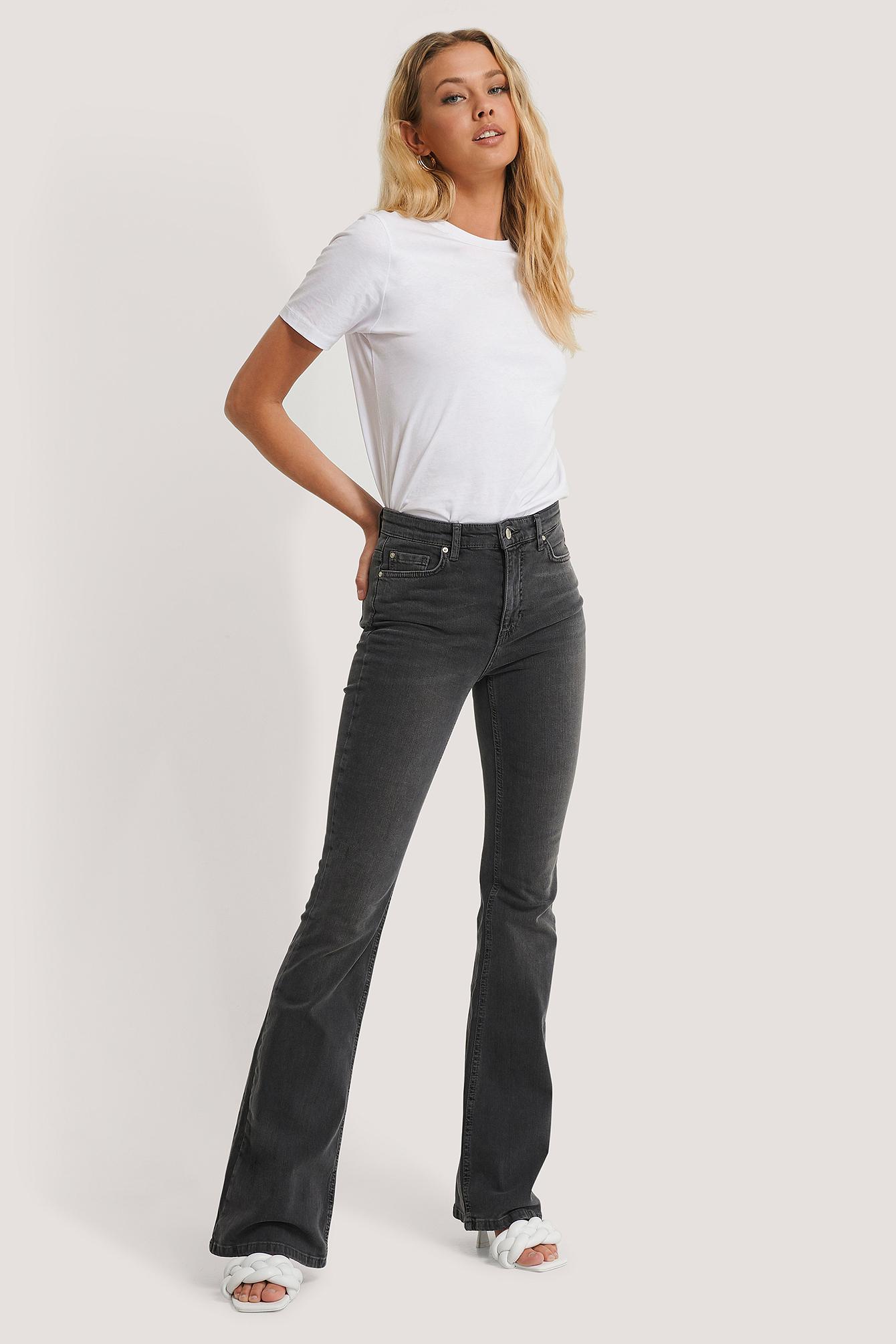 trendyol -  Ausgestellte Jeans - Black