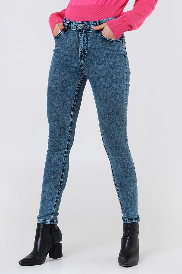 High Waist Skinny Jeans NA-KD.COM