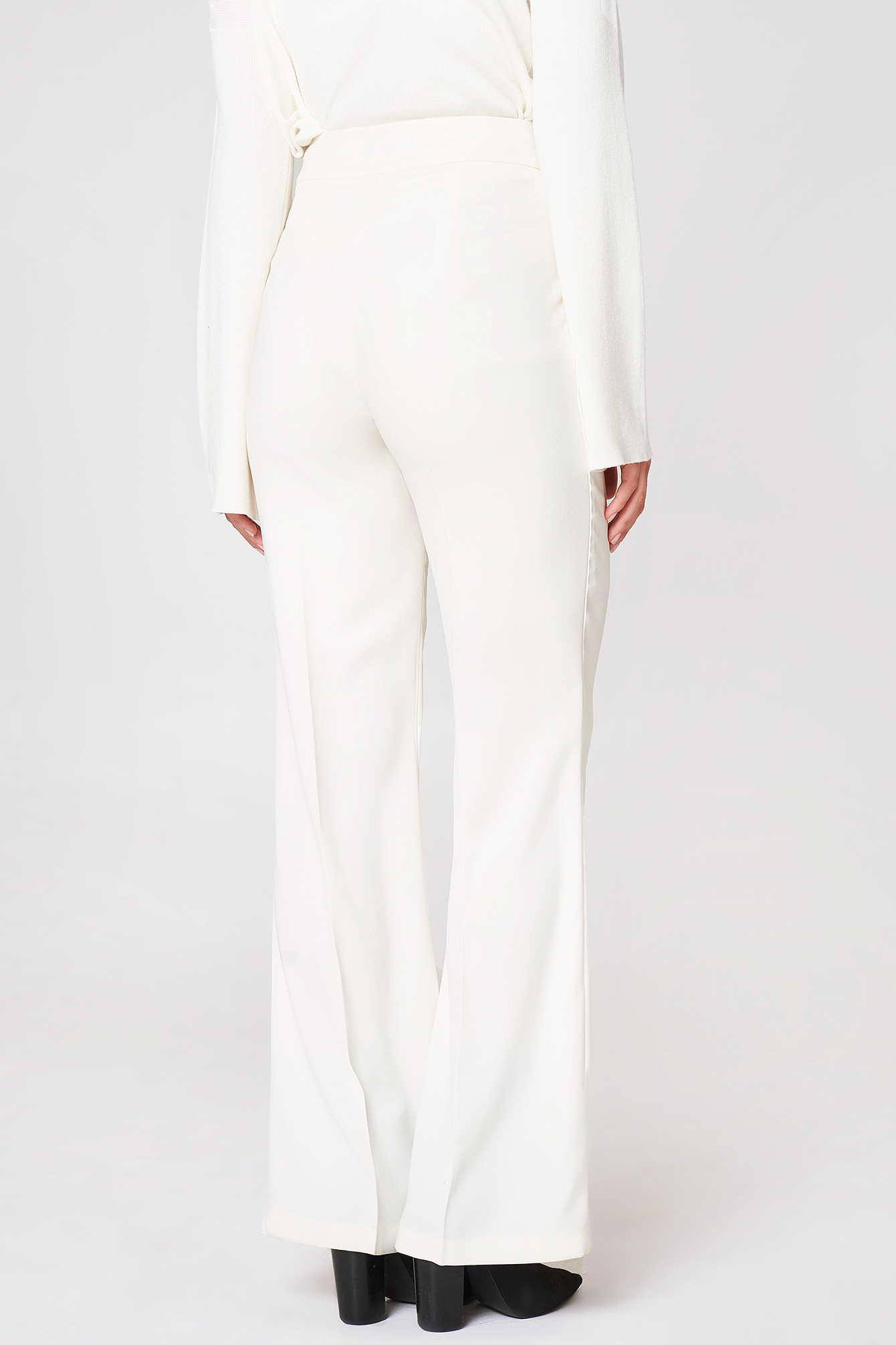 High Waist Straight Pants NA-KD.COM
