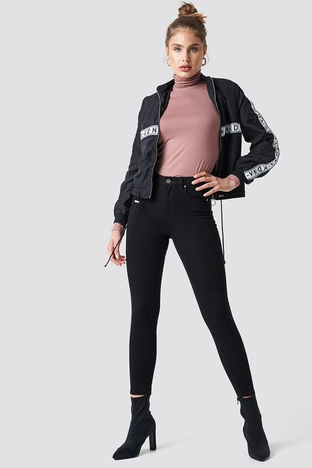 Jeansy skinny z wysokim stanem Trendyol